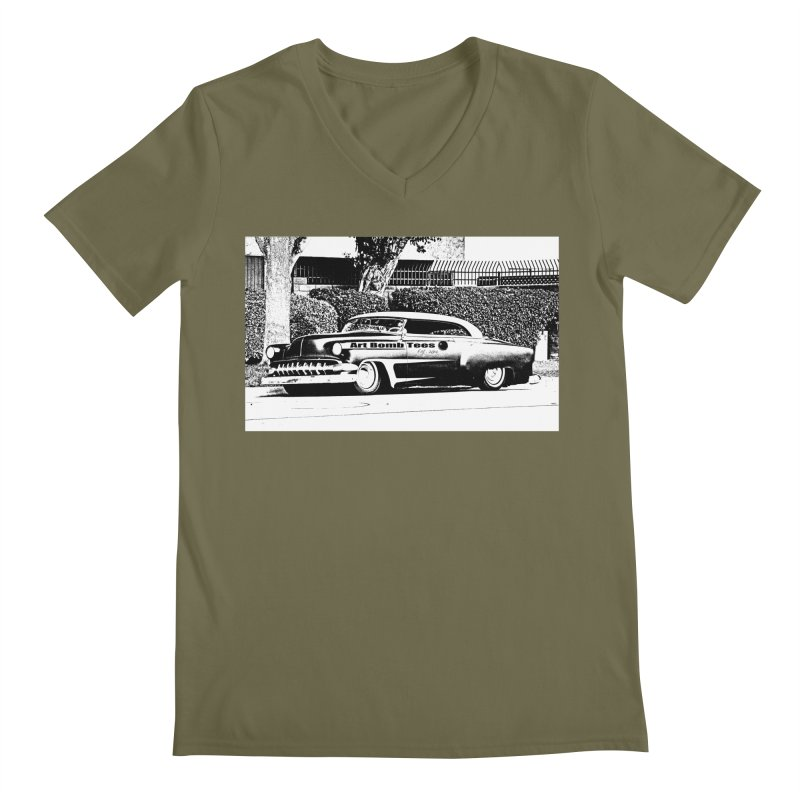 Getaway Car Men's Regular V-Neck by artbombtees's Artist Shop