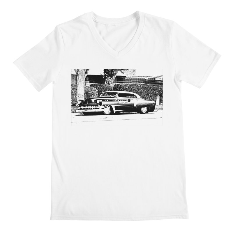 Getaway Car Men's V-Neck by artbombtees's Artist Shop