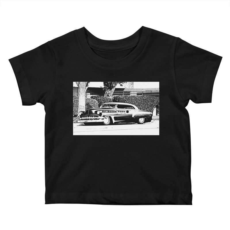 Getaway Car Kids Baby T-Shirt by artbombtees's Artist Shop