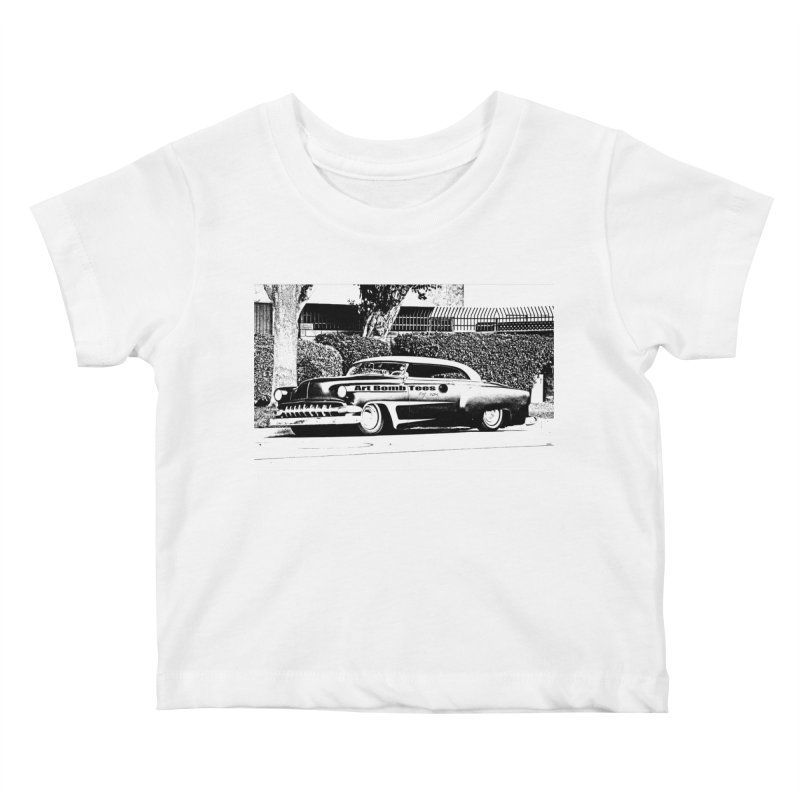 Getaway Car Kids Baby T-Shirt by artbombtees's Artist Shop