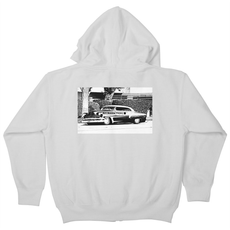 Getaway Car Kids Zip-Up Hoody by artbombtees's Artist Shop