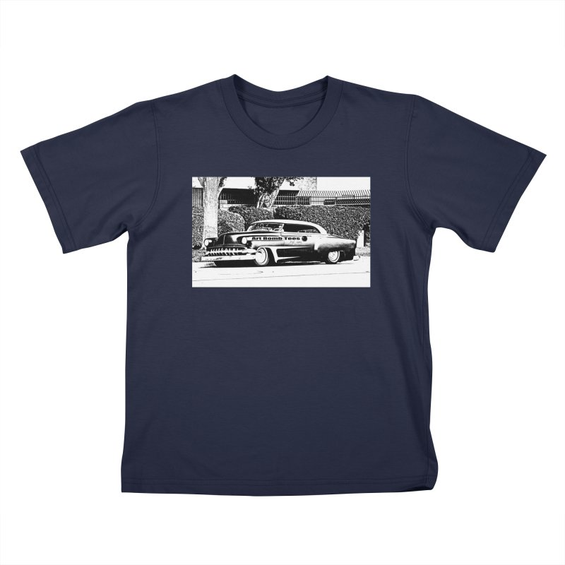 Getaway Car Kids T-Shirt by artbombtees's Artist Shop