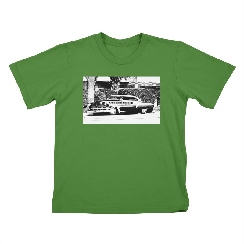 Getaway Car Kids T-Shirt by artbombtees's Artist Shop