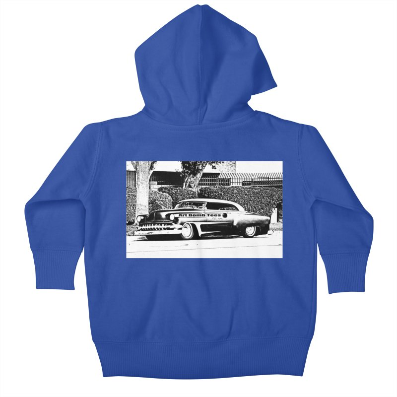Getaway Car Kids Baby Zip-Up Hoody by artbombtees's Artist Shop