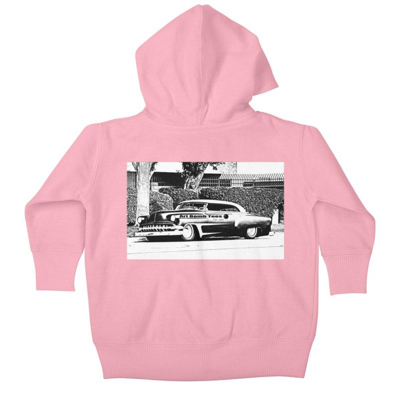 Getaway Car Kids Baby Zip-Up Hoody by artbombtees's Artist Shop