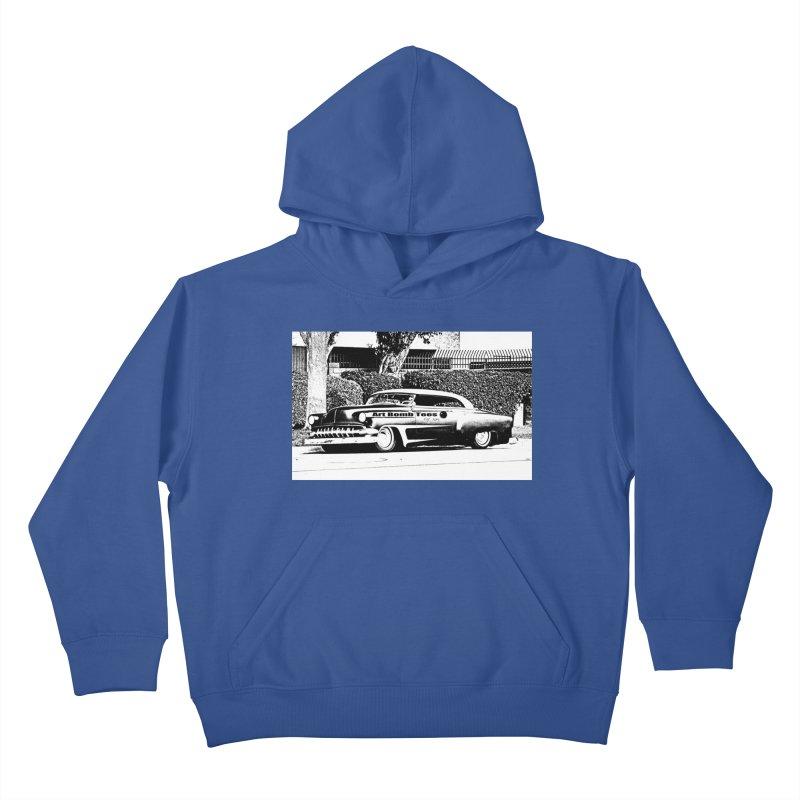 Getaway Car Kids Pullover Hoody by artbombtees's Artist Shop