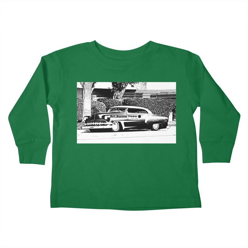 Getaway Car Kids Toddler Longsleeve T-Shirt by artbombtees's Artist Shop