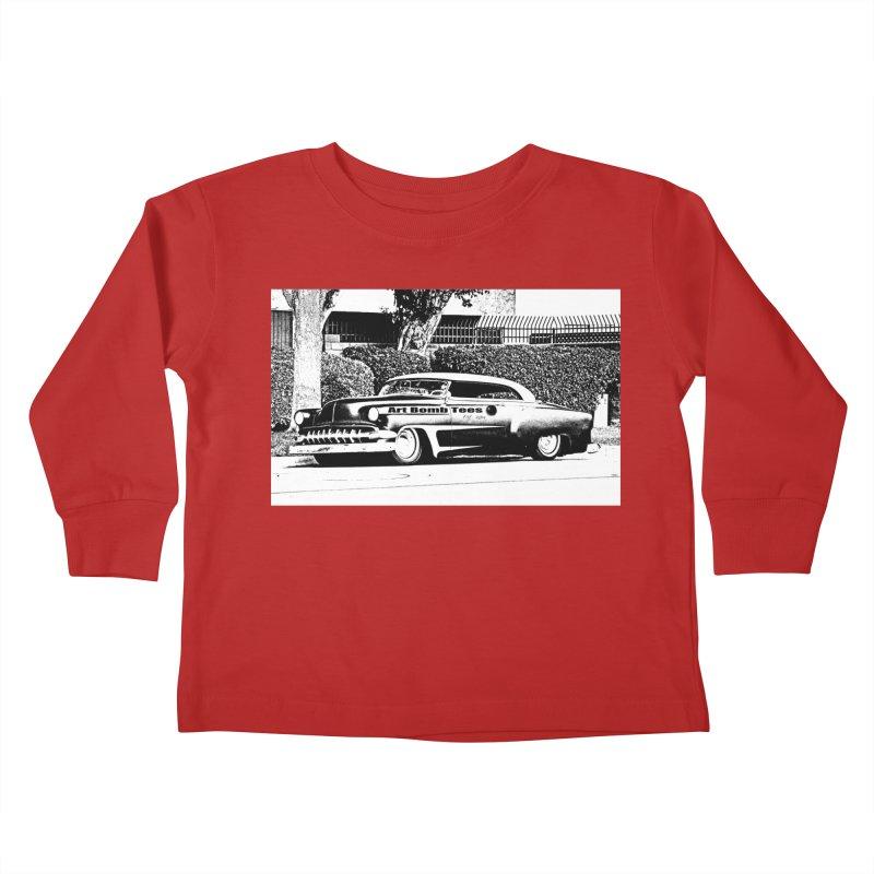 Getaway Car Kids Toddler Longsleeve T-Shirt by artbombtees's Artist Shop