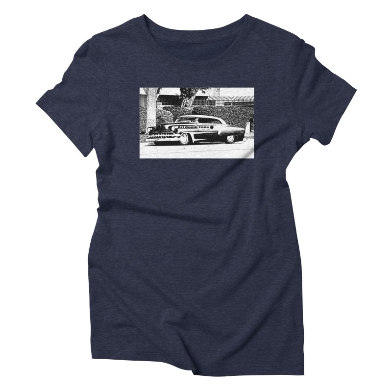 Getaway Car Women's Triblend T-shirt by artbombtees's Artist Shop