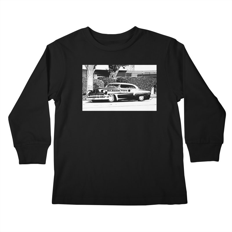 Getaway Car Kids Longsleeve T-Shirt by artbombtees's Artist Shop