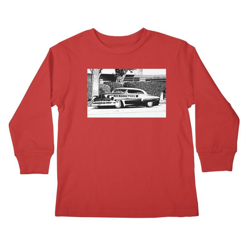 Getaway Car Kids Longsleeve T-Shirt by artbombtees's Artist Shop