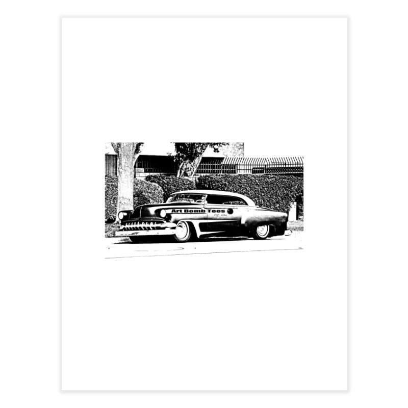 Getaway Car Home Fine Art Print by artbombtees's Artist Shop