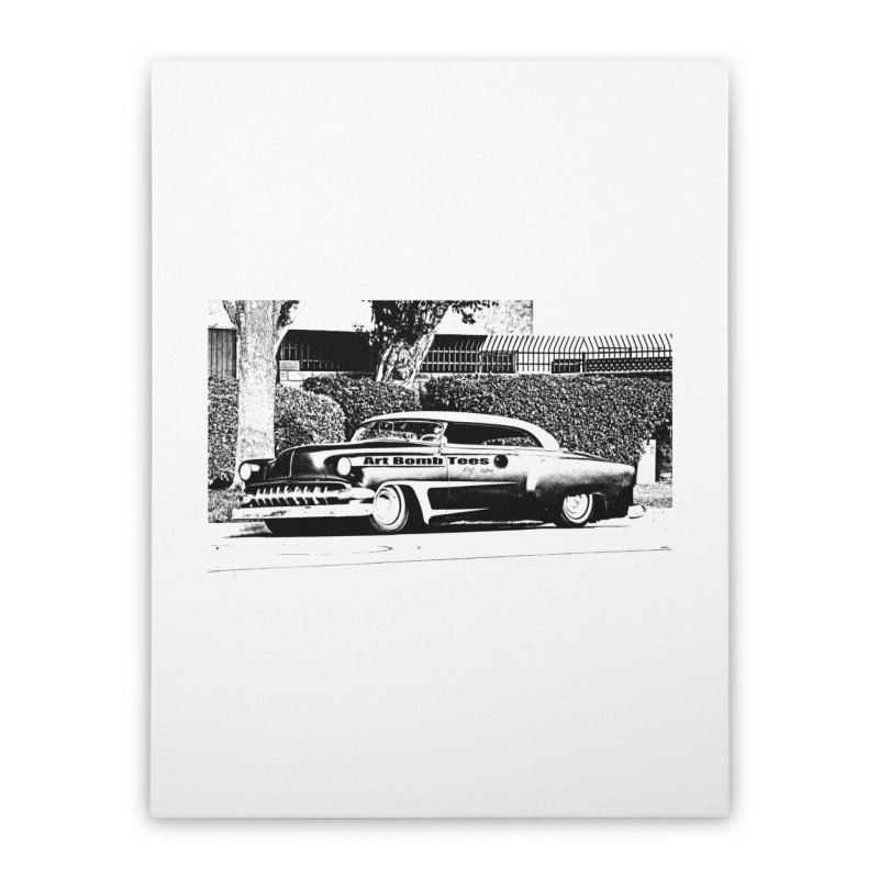 Getaway Car Home Stretched Canvas by artbombtees's Artist Shop