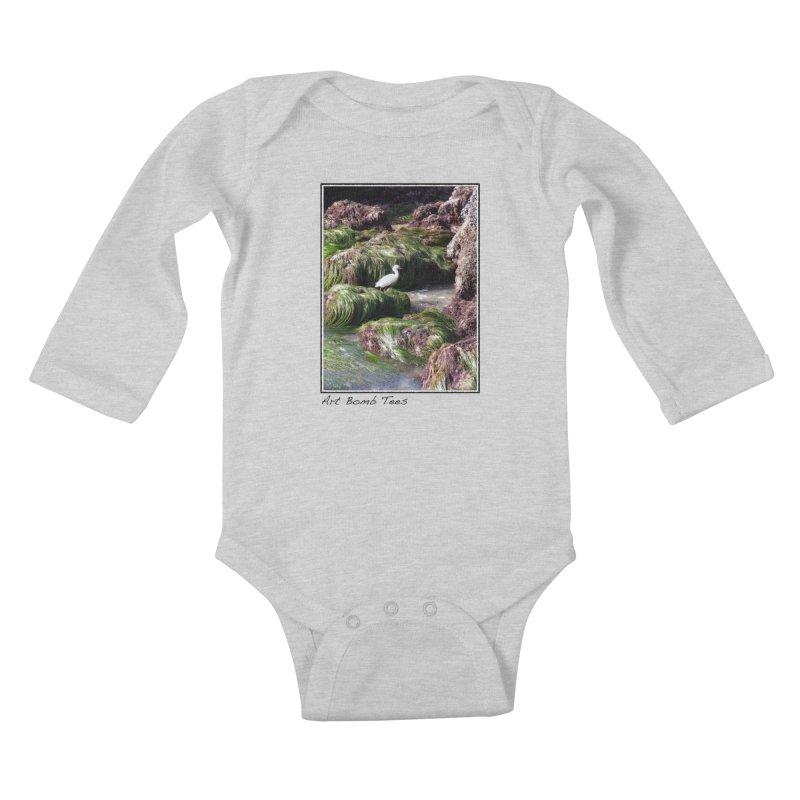 The Cove Kids Baby Longsleeve Bodysuit by artbombtees's Artist Shop