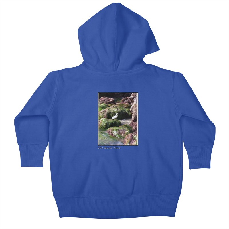 The Cove Kids Baby Zip-Up Hoody by artbombtees's Artist Shop