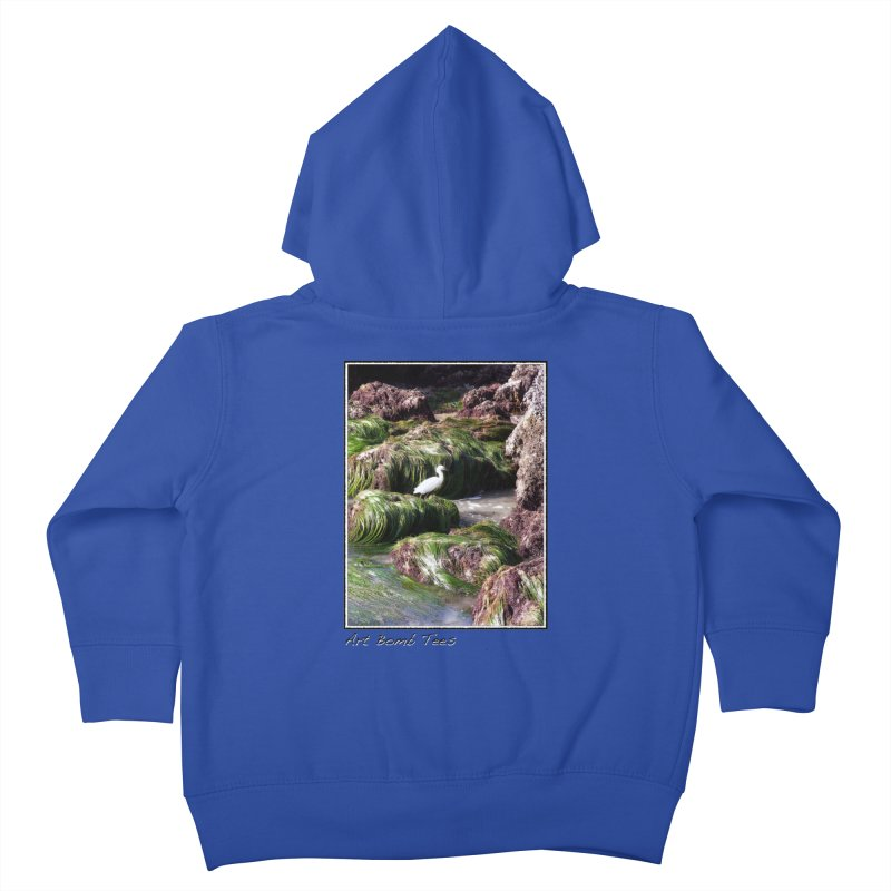 The Cove Kids Toddler Zip-Up Hoody by artbombtees's Artist Shop