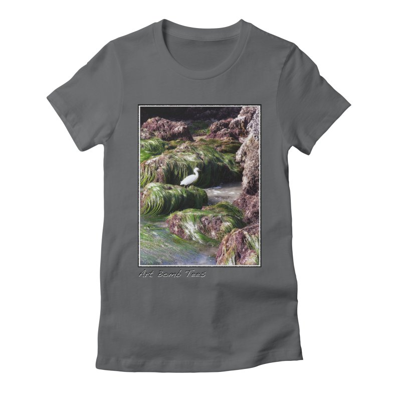 The Cove Women's Fitted T-Shirt by artbombtees's Artist Shop