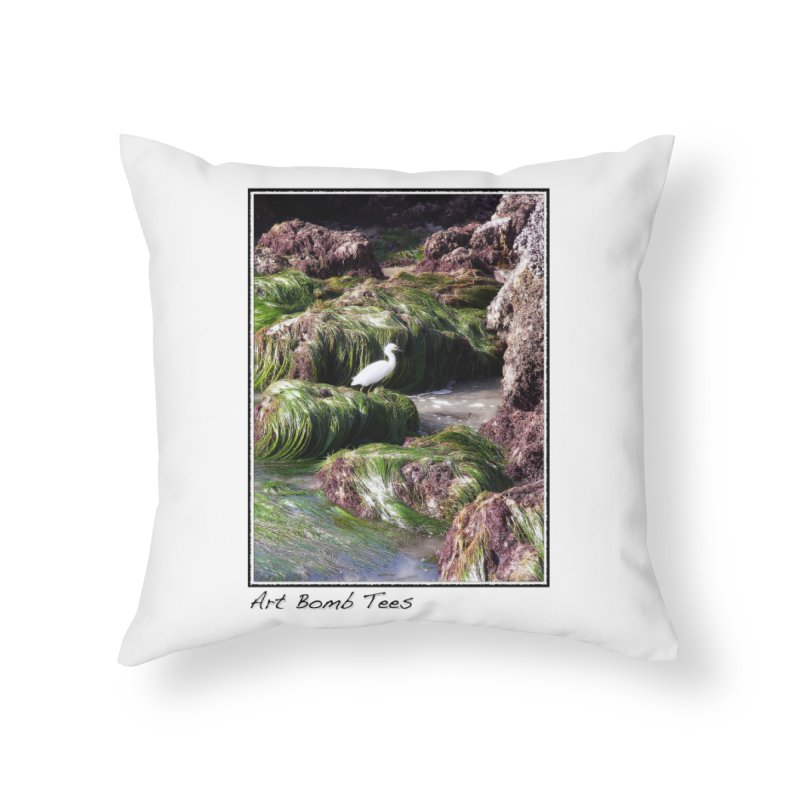 The Cove Home Throw Pillow by artbombtees's Artist Shop