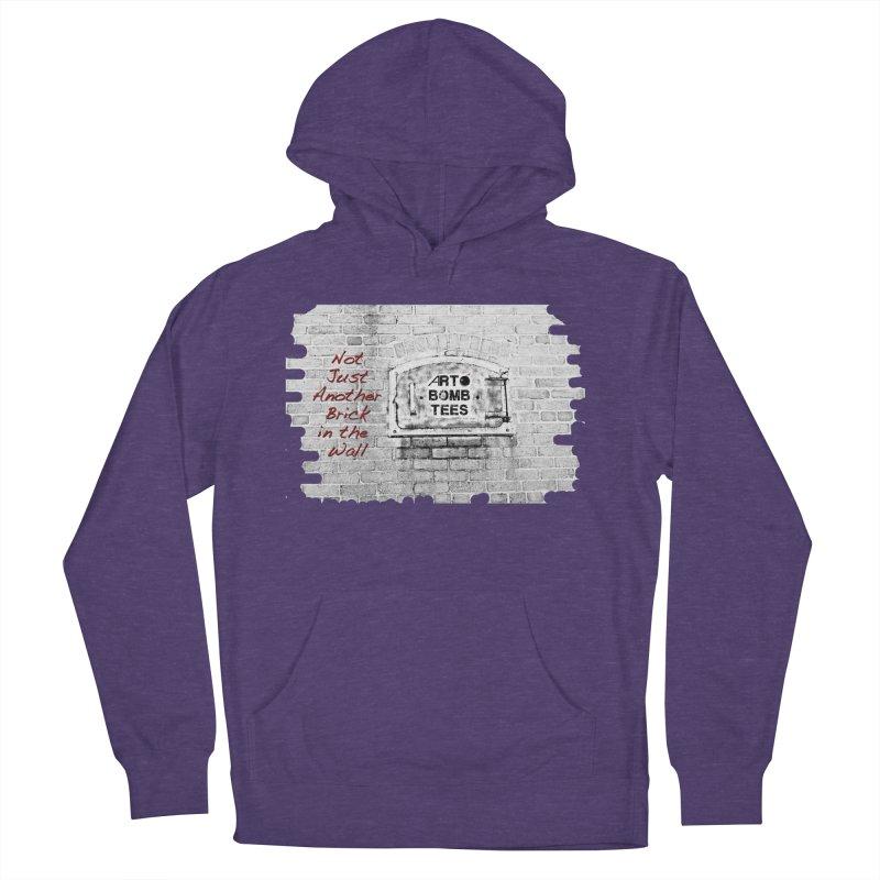 Brick Men's Pullover Hoody by artbombtees's Artist Shop