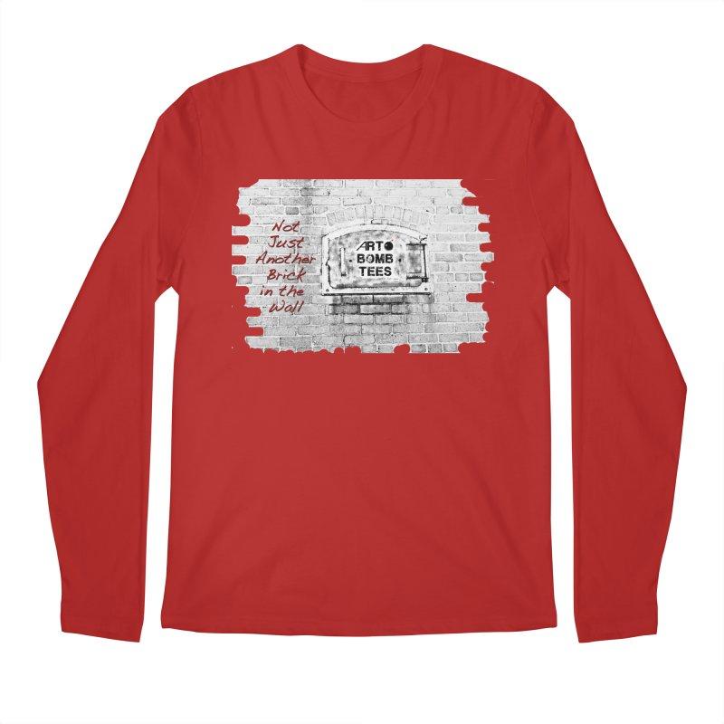 Brick Men's Longsleeve T-Shirt by artbombtees's Artist Shop