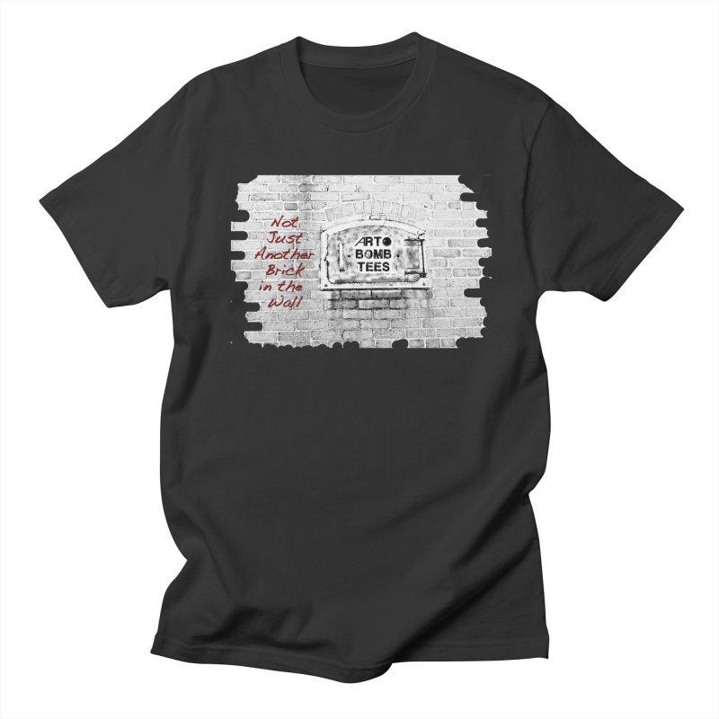 Brick Men's T-shirt by artbombtees's Artist Shop
