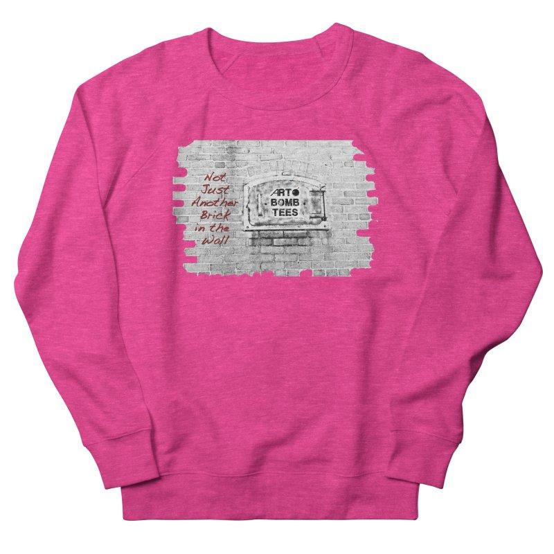 Brick Men's Sweatshirt by artbombtees's Artist Shop
