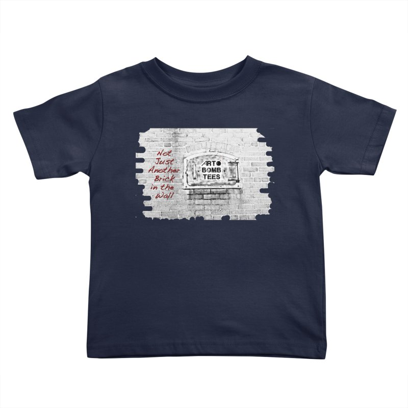 Brick Kids Toddler T-Shirt by artbombtees's Artist Shop