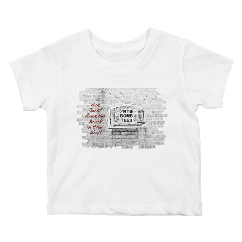 Brick Kids Baby T-Shirt by artbombtees's Artist Shop