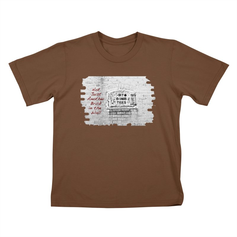 Brick Kids T-shirt by artbombtees's Artist Shop