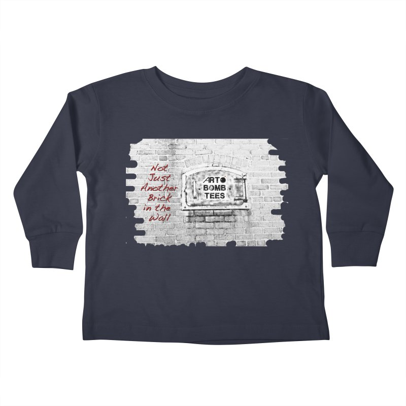 Brick Kids Toddler Longsleeve T-Shirt by artbombtees's Artist Shop