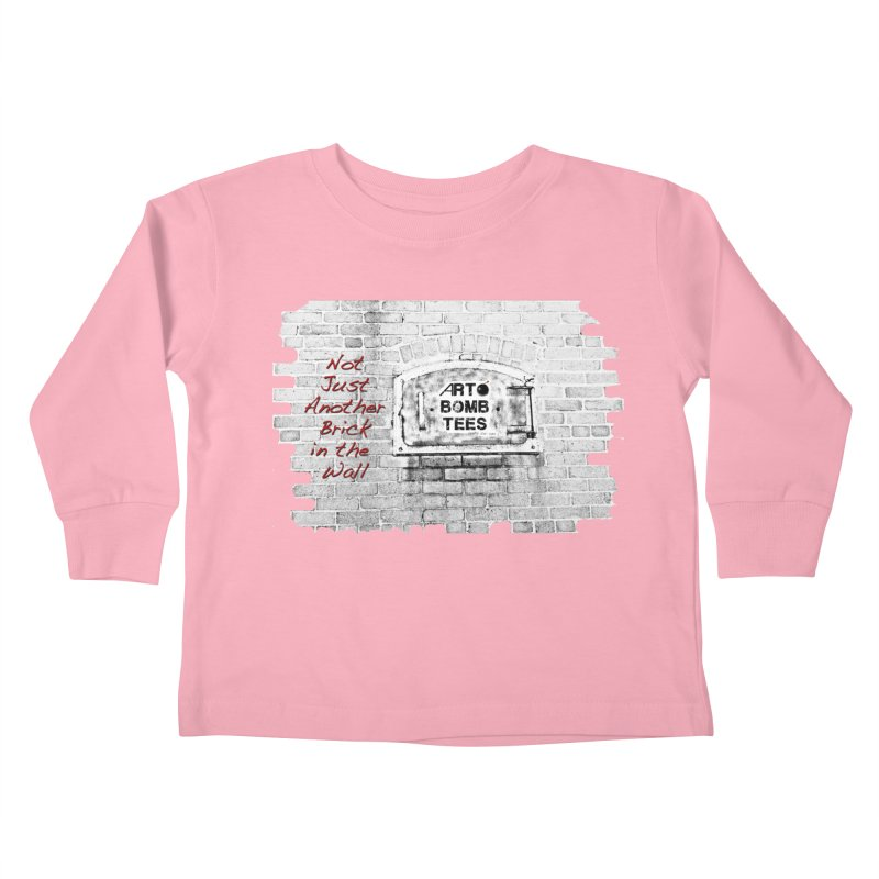 Brick Kids Toddler Longsleeve T-Shirt by artbombtees's Artist Shop