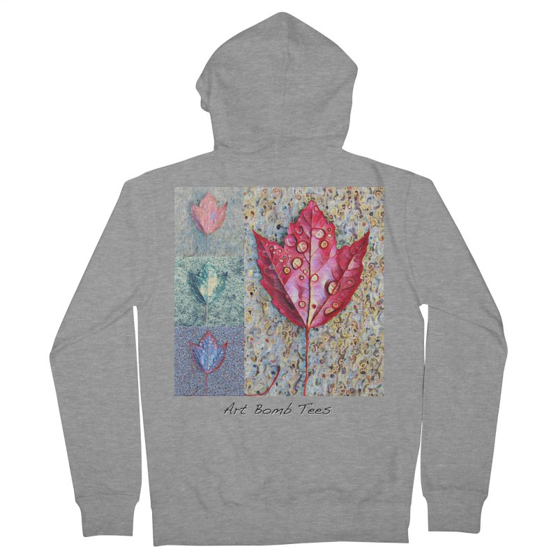 Autumn Colors  Women's French Terry Zip-Up Hoody by artbombtees's Artist Shop