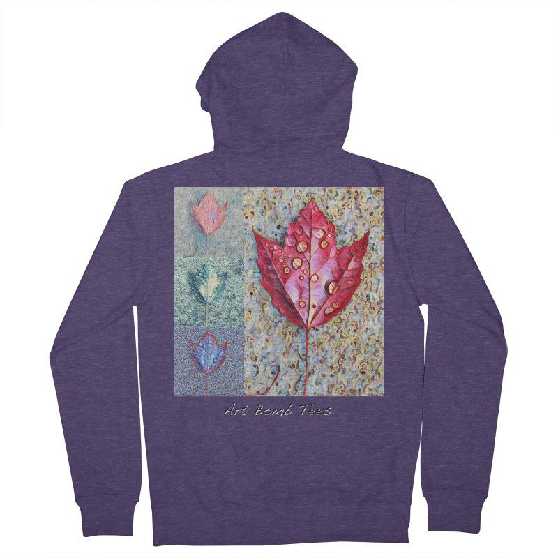 Autumn Colors  Men's Zip-Up Hoody by artbombtees's Artist Shop