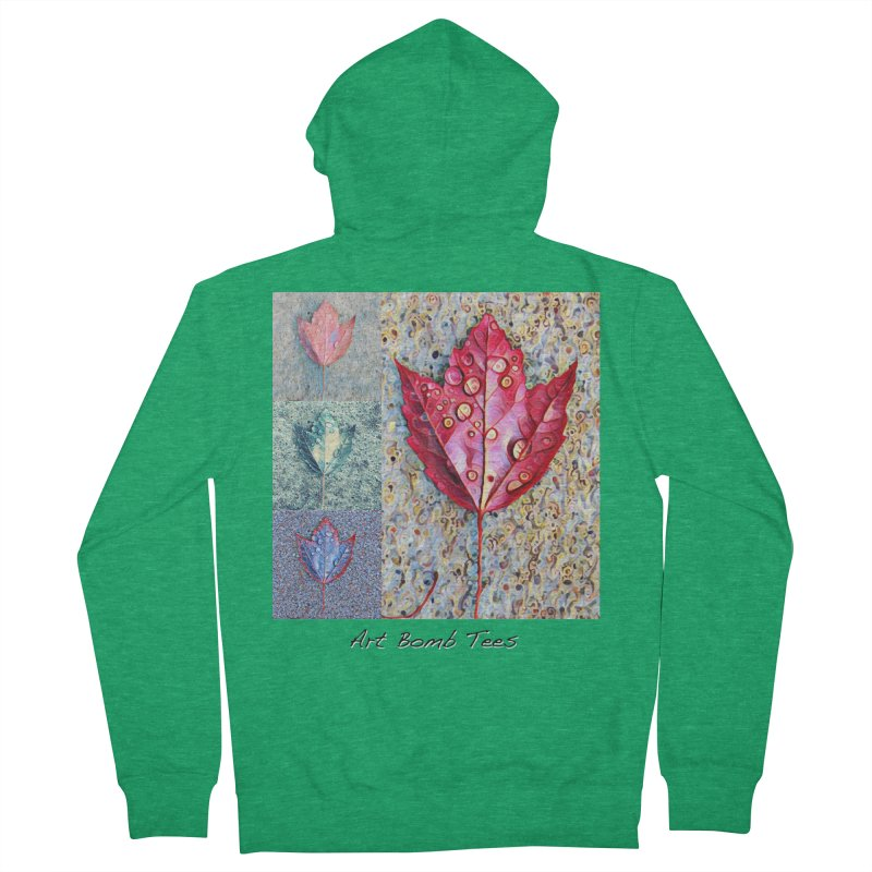 Autumn Colors  Men's French Terry Zip-Up Hoody by artbombtees's Artist Shop
