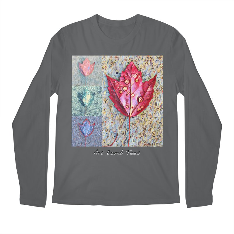 Autumn Colors  Men's Regular Longsleeve T-Shirt by artbombtees's Artist Shop