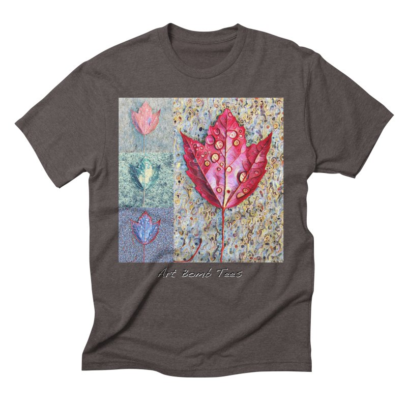 Autumn Colors  Men's Triblend T-Shirt by artbombtees's Artist Shop