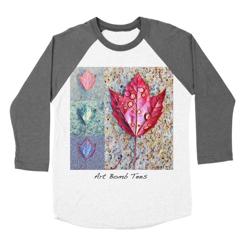 Autumn Colors  Men's Baseball Triblend Longsleeve T-Shirt by artbombtees's Artist Shop