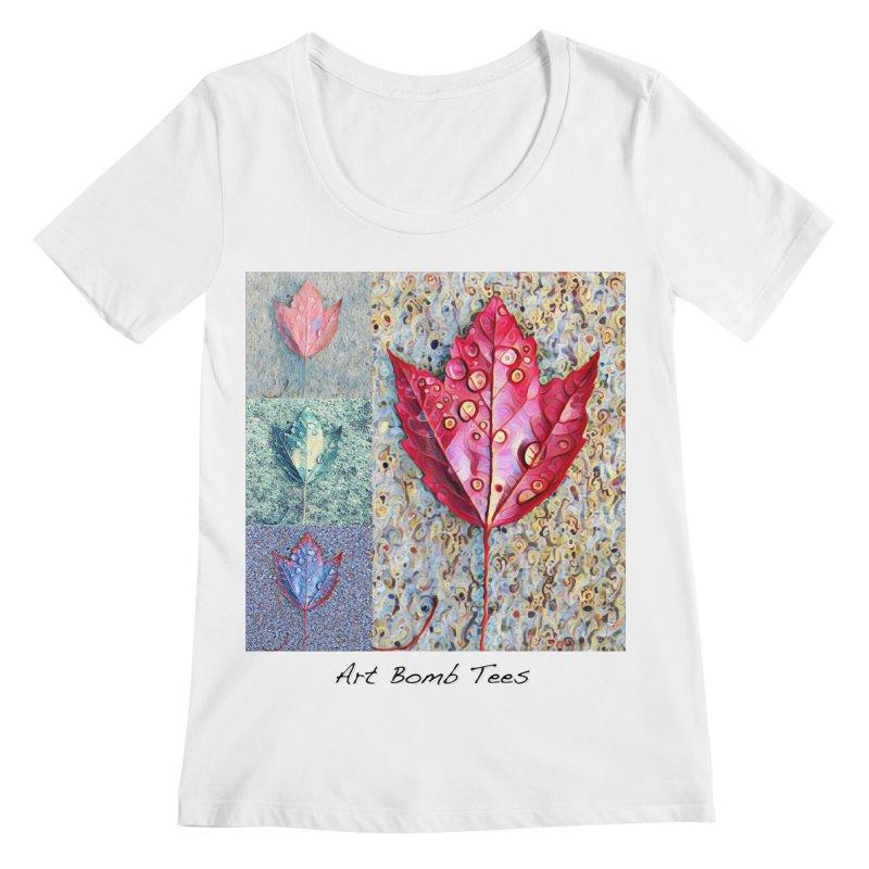 Autumn Colors  Women's Regular Scoop Neck by artbombtees's Artist Shop
