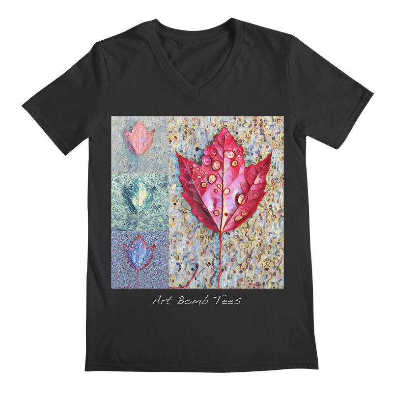 Autumn Colors  Men's V-Neck by artbombtees's Artist Shop