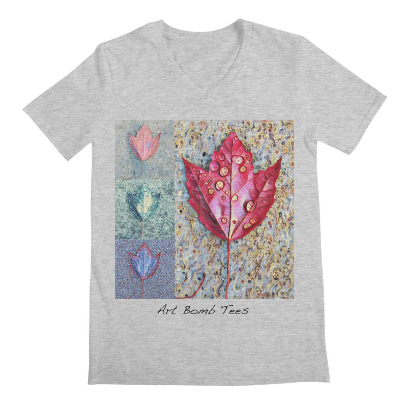 Autumn Colors  Men's Regular V-Neck by artbombtees's Artist Shop