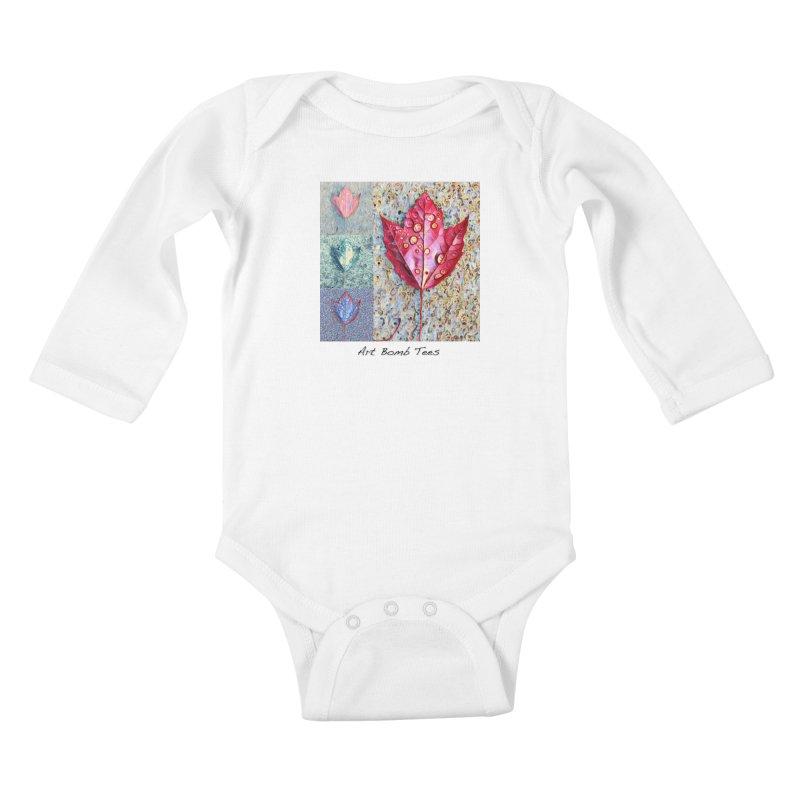 Autumn Colors  Kids Baby Longsleeve Bodysuit by artbombtees's Artist Shop