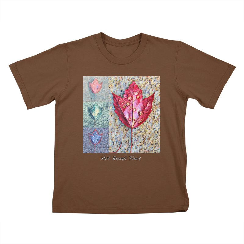 Autumn Colors  Kids T-Shirt by artbombtees's Artist Shop