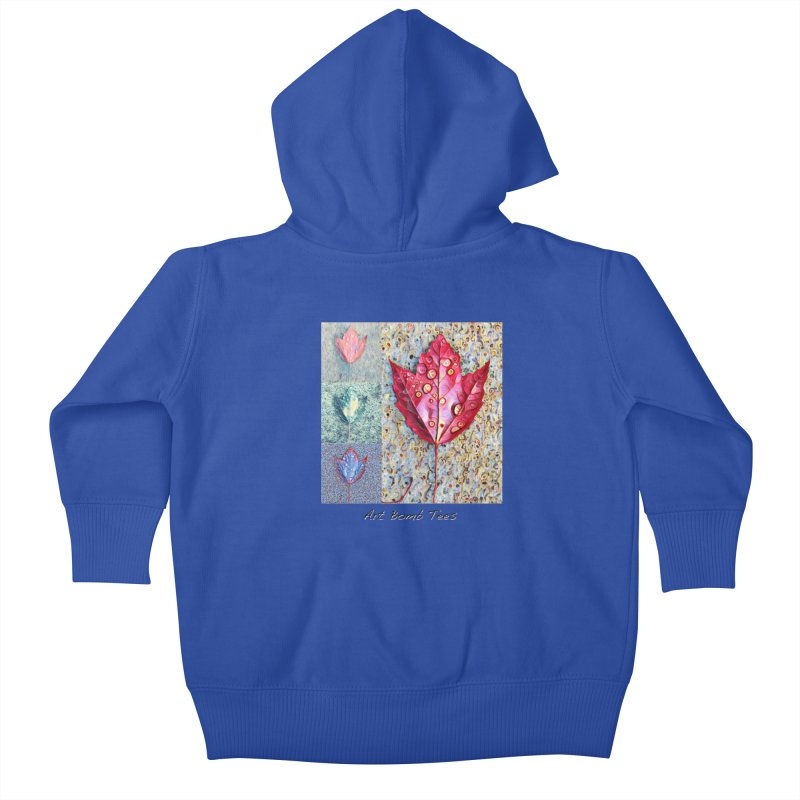 Autumn Colors  Kids Baby Zip-Up Hoody by artbombtees's Artist Shop