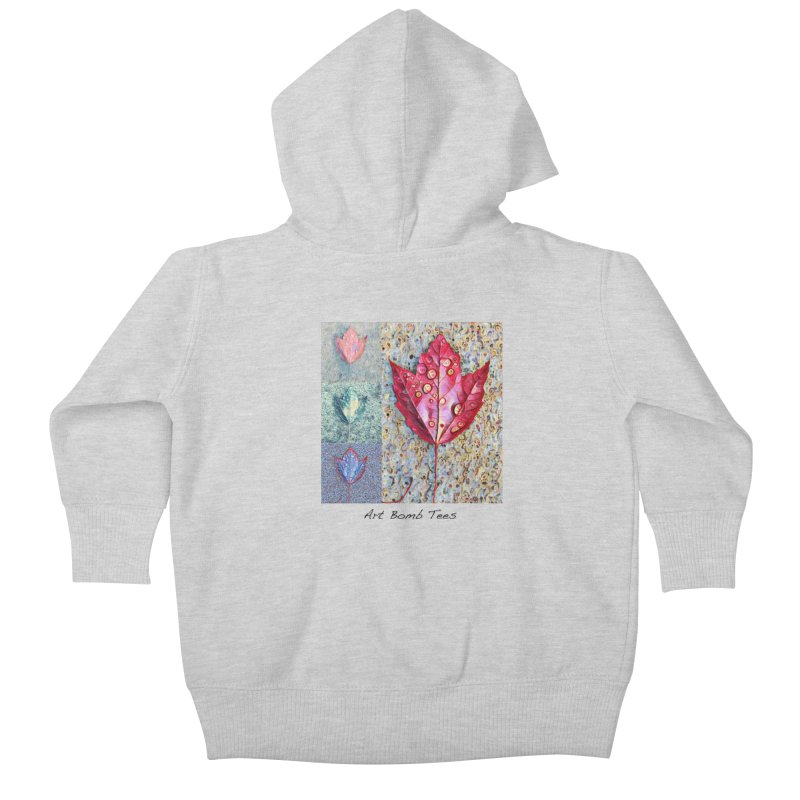 Autumn Colors  Kids Baby Zip-Up Hoody by artbombtees's Artist Shop
