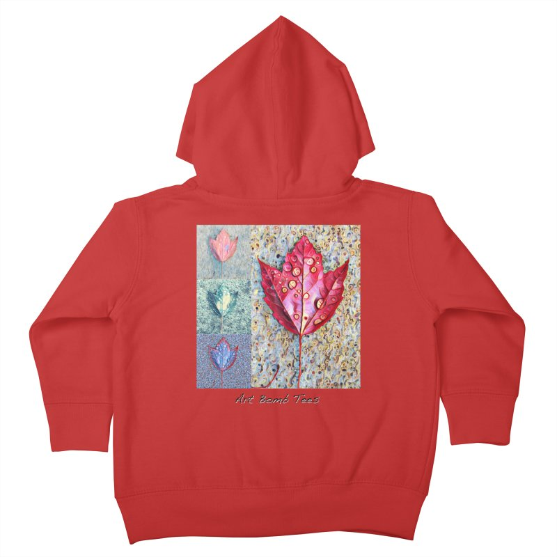 Autumn Colors  Kids Toddler Zip-Up Hoody by artbombtees's Artist Shop