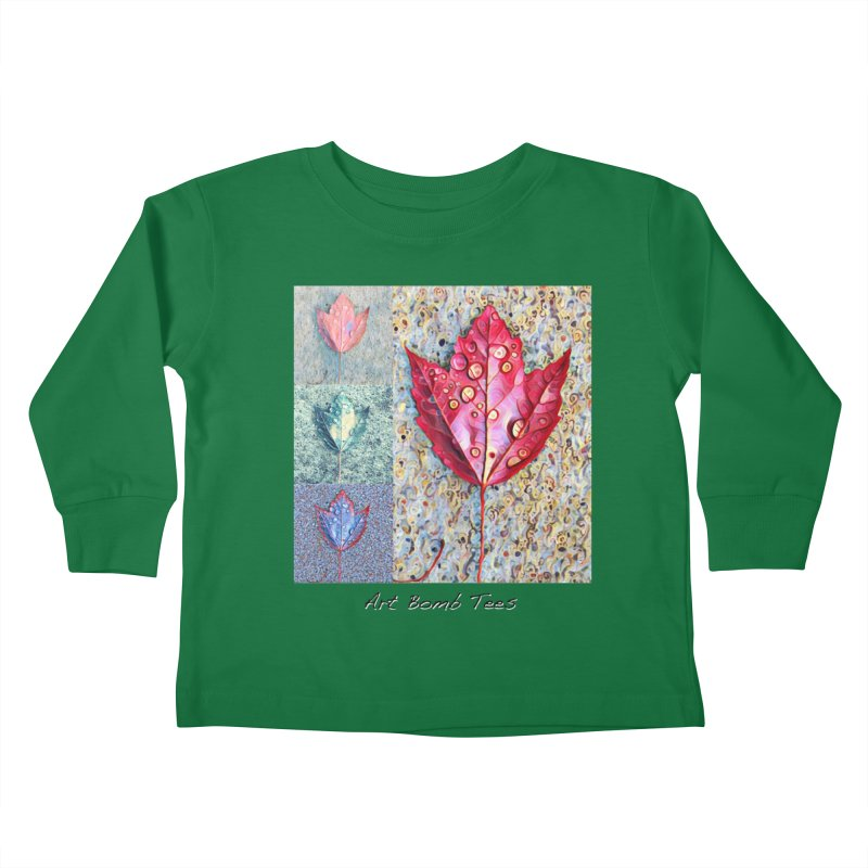 Autumn Colors  Kids Toddler Longsleeve T-Shirt by artbombtees's Artist Shop