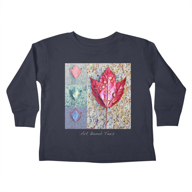 Autumn Colors  Kids Toddler Longsleeve T-Shirt by artbombtees's Artist Shop