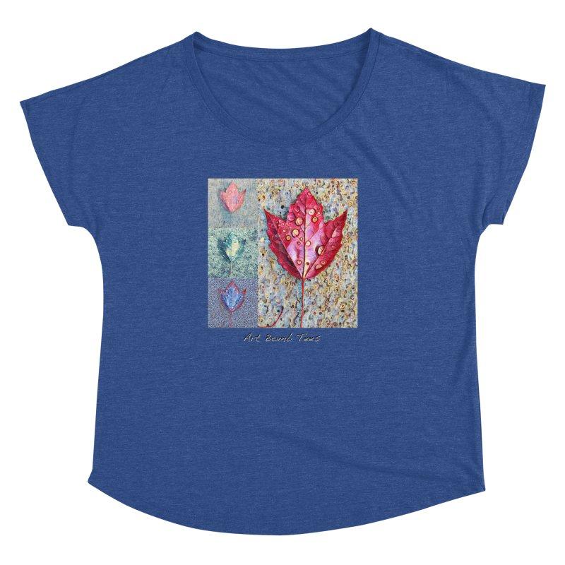 Autumn Colors  Women's Dolman Scoop Neck by artbombtees's Artist Shop