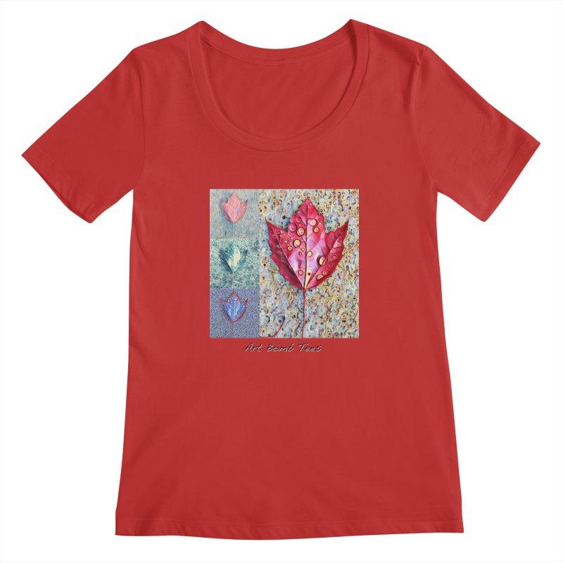 Autumn Colors  Women's Scoopneck by artbombtees's Artist Shop