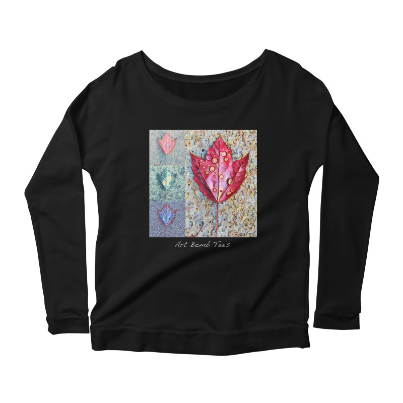 Autumn Colors  Women's Longsleeve Scoopneck  by artbombtees's Artist Shop